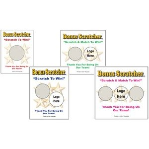 Semi Custom Scratcher Cards - Color (2.00